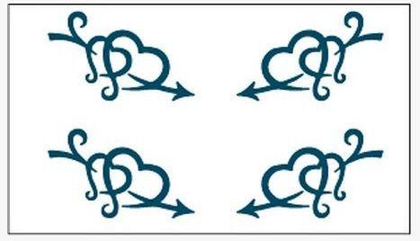 (Минимальный заказ $0.5) Временные Татуировки Для Мужчина Женщина Водонепроницаемый Наклейки макияж maquiagem составляют Меч проходные Татуировки WM006