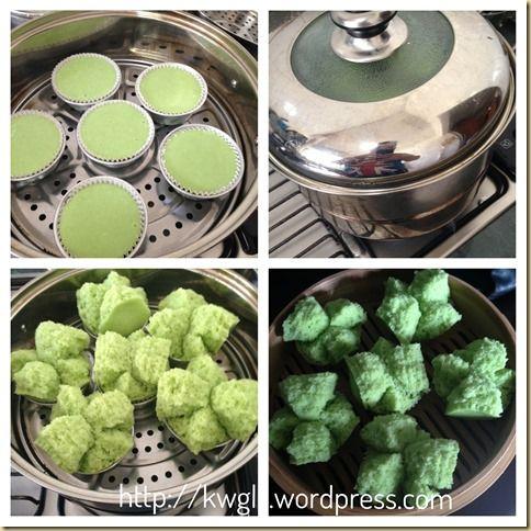 An Auspicious Steamed Cake To Celebrate My Blog Anniversary–Pandan Huat Kuih…