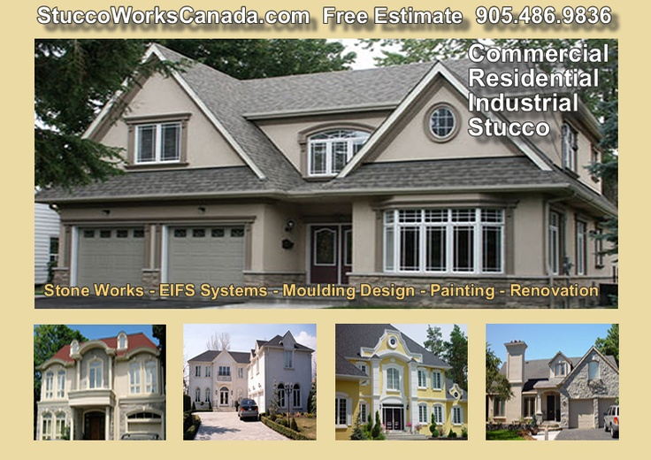 We Specialize In Designing Building And Restoring Stucco And Eifs