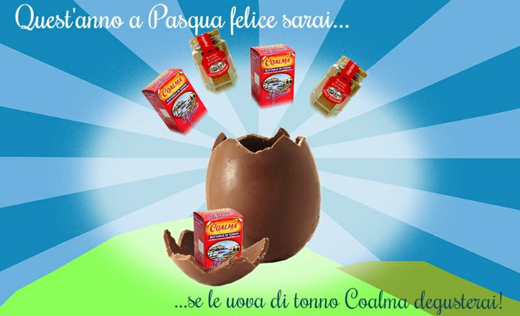 #Easter: Chocolate eggs - Tuna eggs