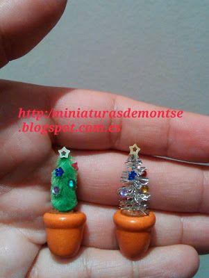 Mi mundo en miniatura: Tutorial árbol de navidad