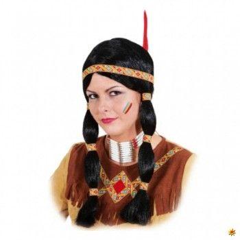 Perücke Indianerin, Indianer-Perücke kaufen