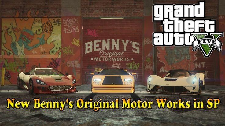 GTA 5 моды - New Benny's Original Motor Works in SP