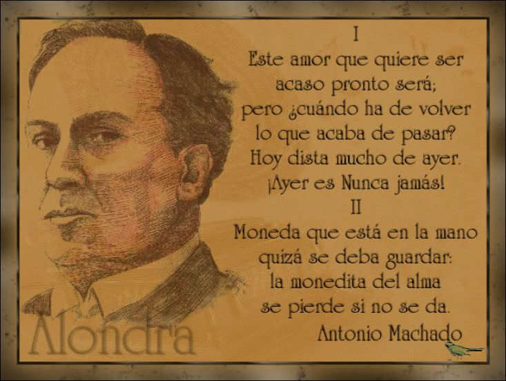 Alondra - Poema de Antonio Machado