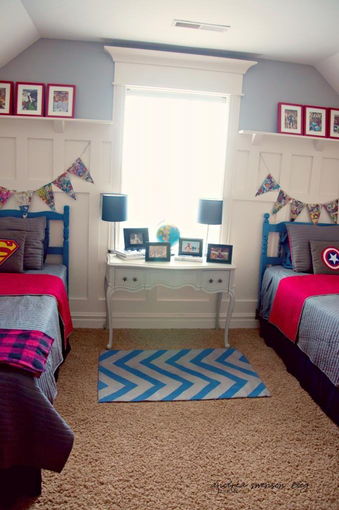 Superhero room kid zone pinterest superhero room for Decor zone bedroom