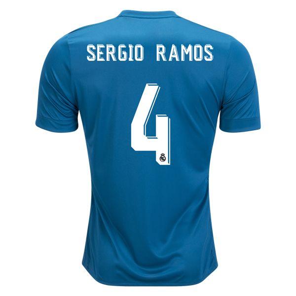 adidas Sergio Ramos Real Madrid Third Jersey 17/18