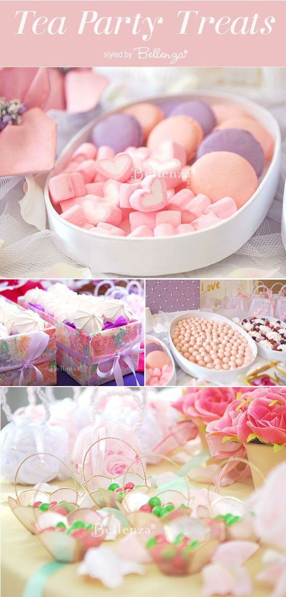Afternoon Tea Party Menu Ideas From Meringues To Macarons In Pink And Lilac Think Vintage