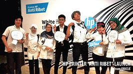 HP PRINTER LAUNCHING - BANDUNG