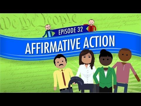 A discussion on affirmative action