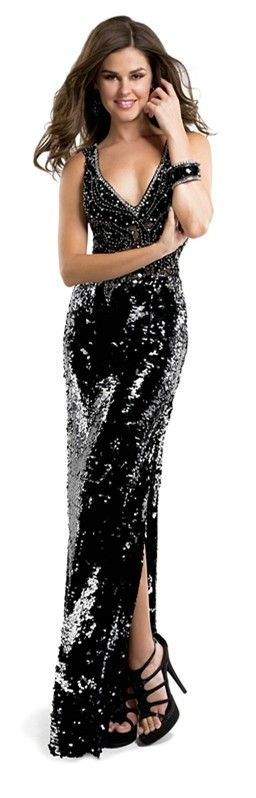 This beautiful black dress!  Love it!!
