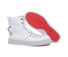 Best Cheap Christian Louboutin Alfie Flat High Top Men's Sneakers White CODE: Christian Louboutin 2063 List price: $995.00   Price: $198.00 You save: $797.00 (80%) http://www.bestpricechristianlouboutin.com/best-cheap-christian-louboutin-alfie-flat-high-top-mens-sneakers-white.html