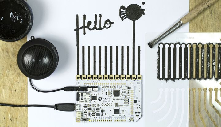 Bare conductive touch board http://www.bareconductive.com/shop/touch-board/