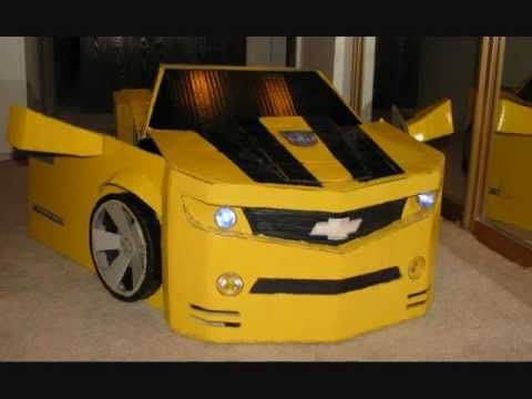 TRANSFORMERS BUMBLEBEE COSTUME - YouTube