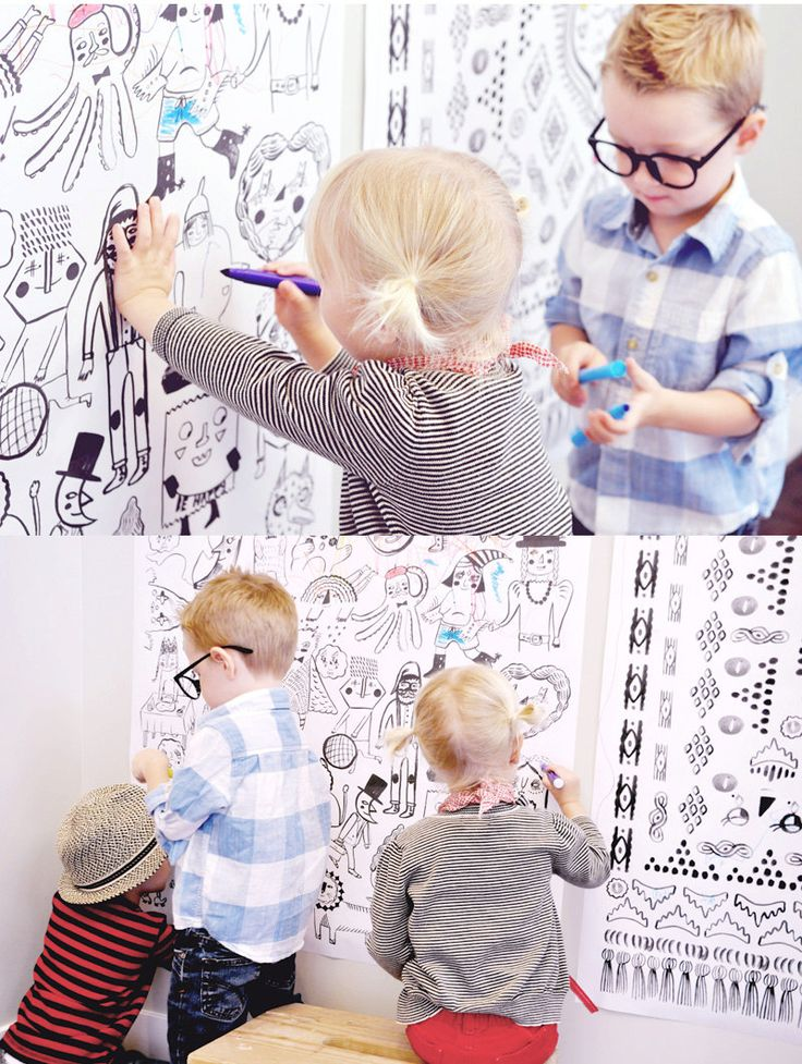 Roxy Marj Coloring Posters - LOVE THESE!