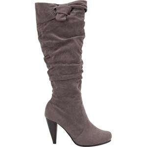DE BLOSSOM Amanda Slouch Knot Boots $29.97
