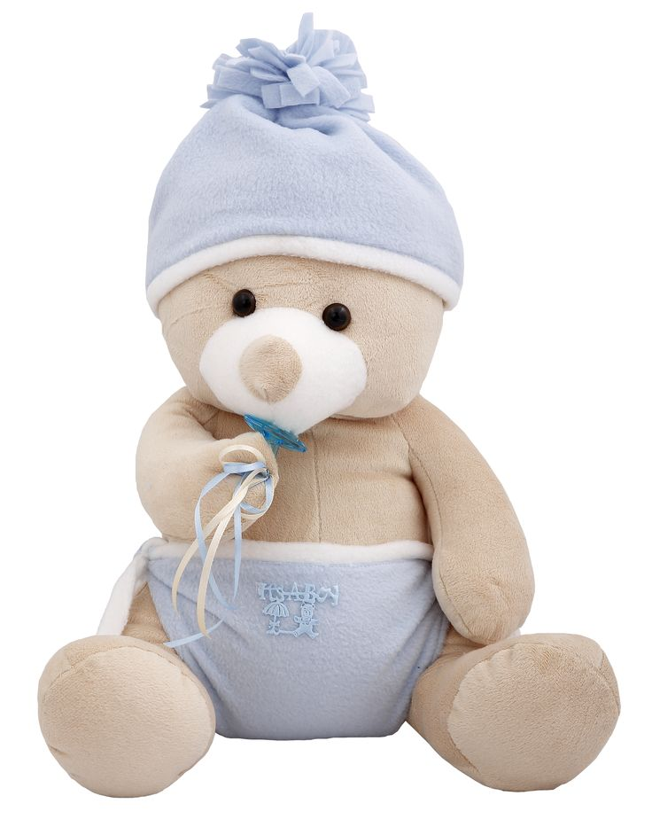 This Bear will make a big impression on the one you love and we guarantee you'll get the reaction you're hoping for. #NewBaby #TeddyBear
