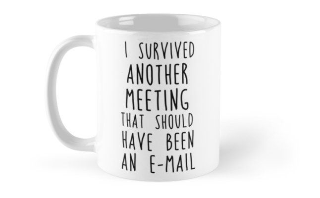 Another meeting Mugs