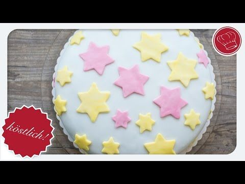Fondant-Motiv-Torte - einfacher Einstieg mit Fondant | elegant-kochen.de - YouTube
