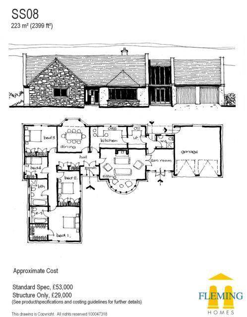 Best 25 self build houses ideas on pinterest self build for Self build floor plans