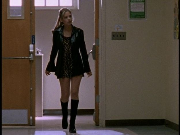 """When Buffy wore this 70's throwback look 