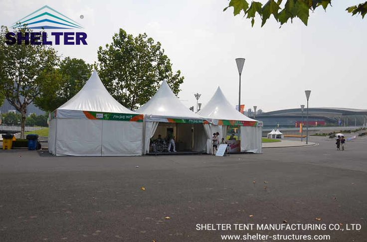 Gazebo Tent | Canopy Tent | Reception Tent | Lounge Tent | http://www.shelter-structures.com/