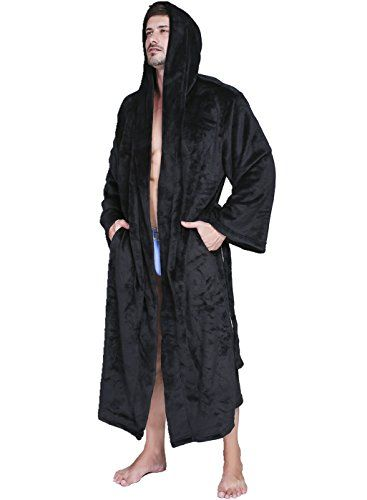 8203e3a915 Beautiful VERNASSA Mens Fleece Robe