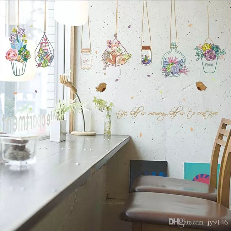 jy9146 provide life , half is memory half is to continue . letter and picture style wall sticker diy artistic vase wall decal for study and living room in high quality, cute cheap wall decor stickers and classical cheap wall murals and decals for you to choose, use cheap wall sticker to decorate your walls.