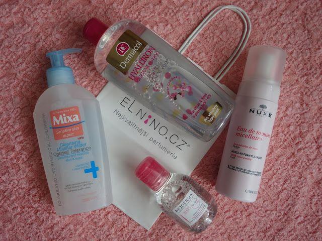 All my cosmetics: Nový test micelárních vod