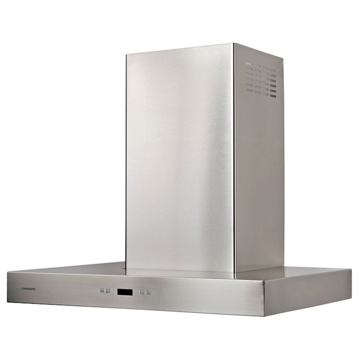 "Cavaliere 30"" Wall Mount Range Hood Stainless Steel Timer Function - 218W"