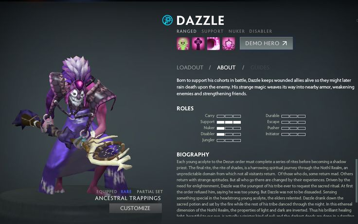 dota 2 how to play dazzle