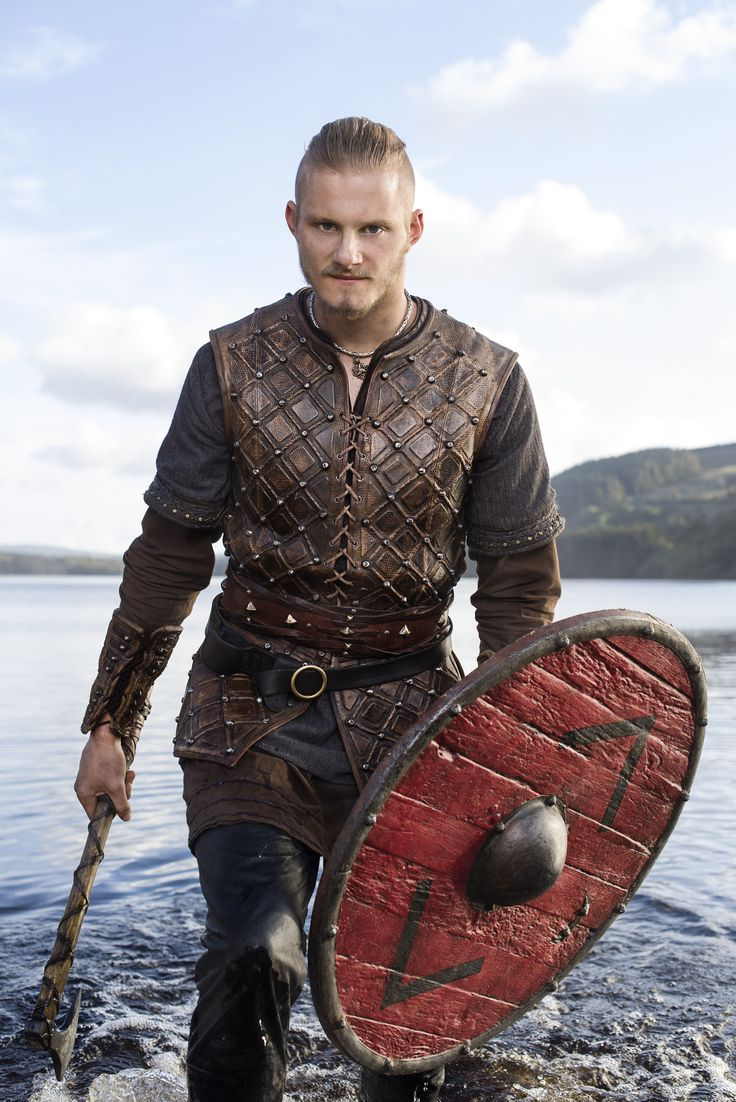 "Vikings S3 Alexander Ludwig as ""Bjorn Lothbrok"""
