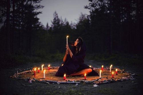 Witches are very protective of their sacred circles. They become highly irritated if interrupted or if the circle is desecrated. Curses,attacks and even death can result.