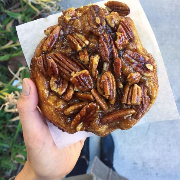 A sticky bun from WildFlour Pastry: | Here's Everything You Need To Eat In Charleston