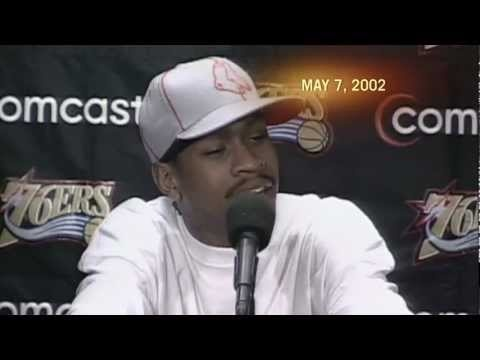 """We're talking about practice!"" Allen Iverson Practice Rant - May 7, 2002 via ESPN"