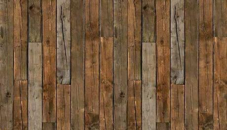 PAPIER-PEINT: trompe l'oeil, imitation bois