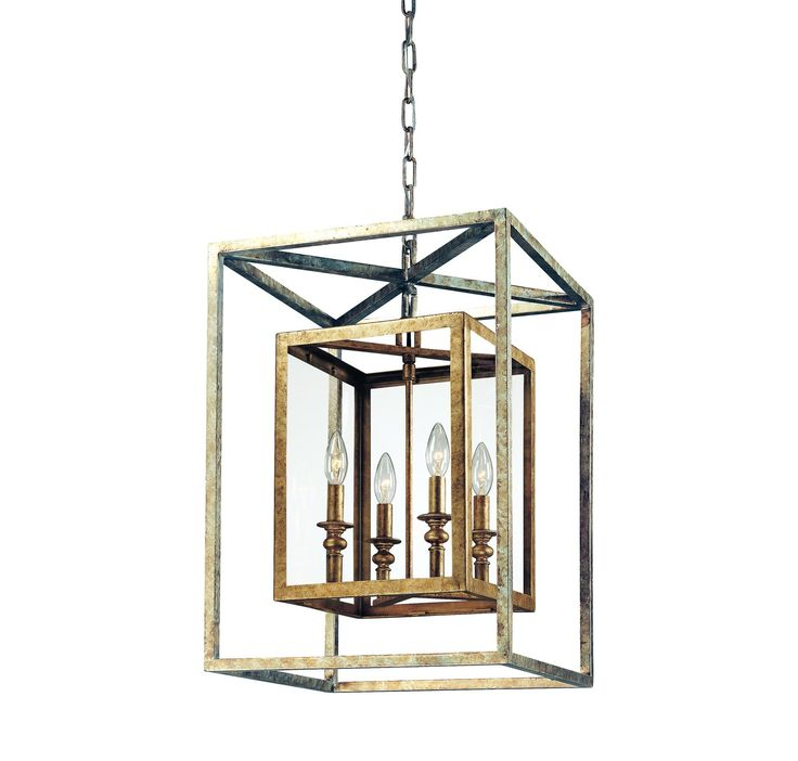 Troy Lighting F9994GSL Morgan 4 Light Entry Pendant in Ceiling Lights, Entry Lights: ProgressiveLighting.com