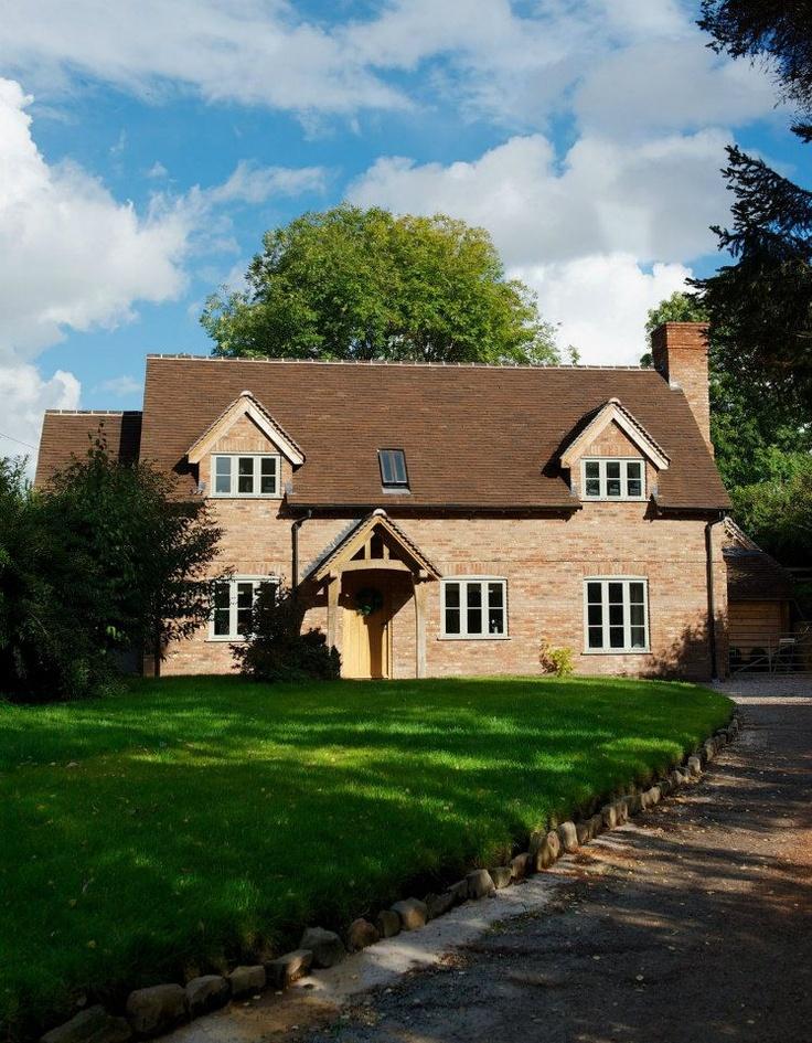 Oak framed cottage with brick finish