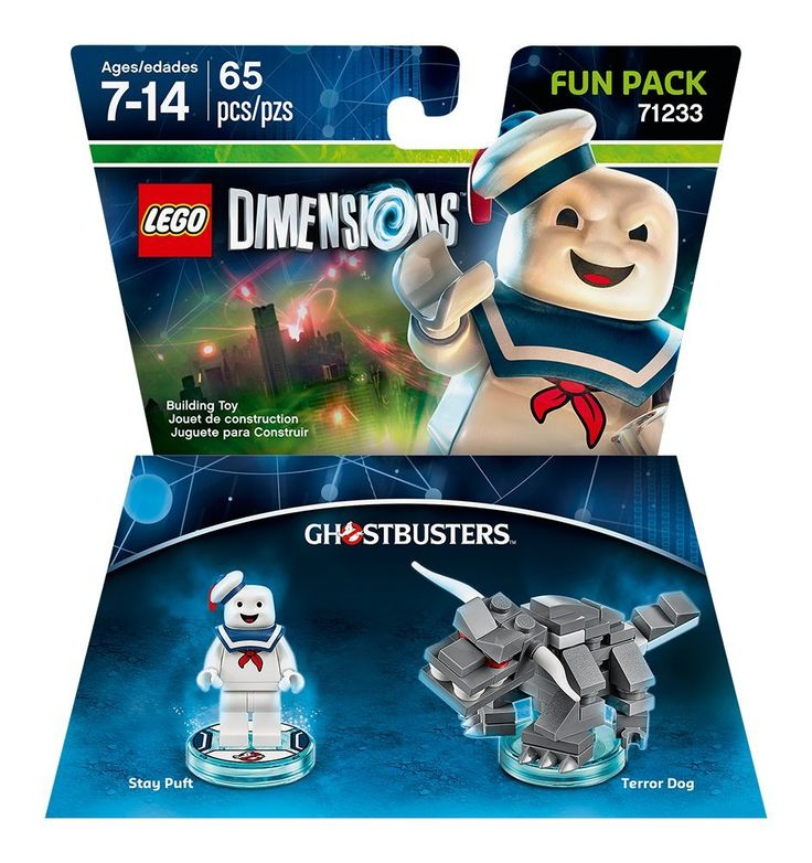 Amazon.com: Ghostbusters Stay Puft Fun Pack - LEGO Dimensions: Video Games