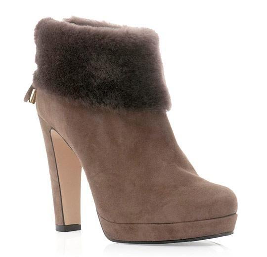 Обувь ботильоны зимние