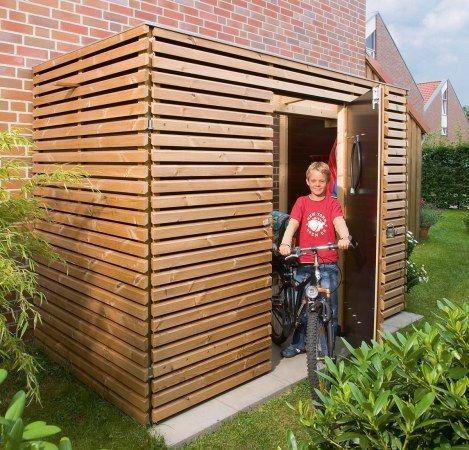Szopa na rowery z przeszklonym dachem