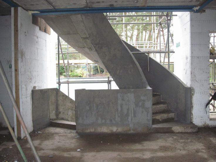 Best 11 Best Curved Concrete Stairs Images On Pinterest 640 x 480