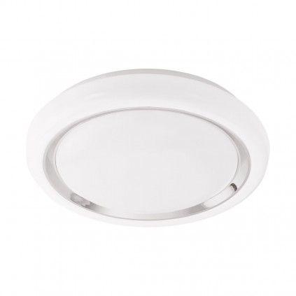 EGLO Connect CAPASSO-C LED RGB Wand u. Deckenlampe 340mm rund weiß Bluetooth App