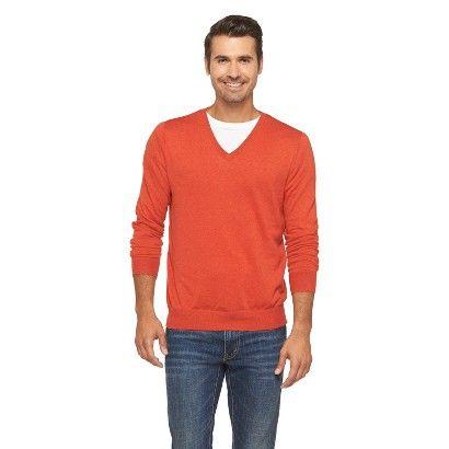 8 Merona Men's V-Neck Sweater