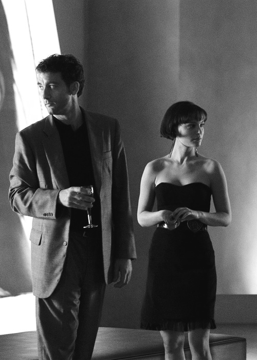 Clive Owen and Natalie Portman (Closer, 2004)