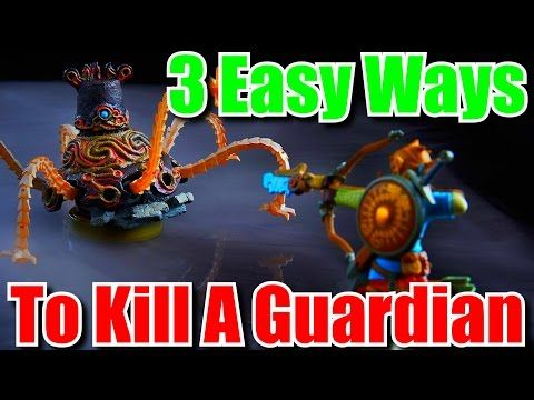How to Kill Guardians - The Quickest & Easiest Ways - Zelda Breath of the Wild Tips & Tricks - (More info on: http://LIFEWAYSVILLAGE.COM/how-to/how-to-kill-guardians-the-quickest-easiest-ways-zelda-breath-of-the-wild-tips-tricks/)