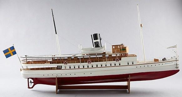 """Passenger steamer """"Bohuslän"""", 1900s latter."""