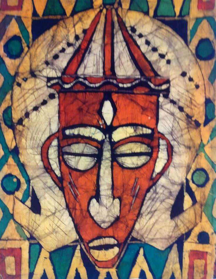 GCSE African art project batik