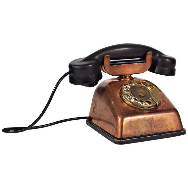 Copper Telephone http://www.1stdibs.com/furniture/more-furniture-collectibles/decorative-objects/
