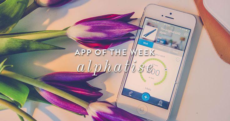 App of the Week: Alphatise
