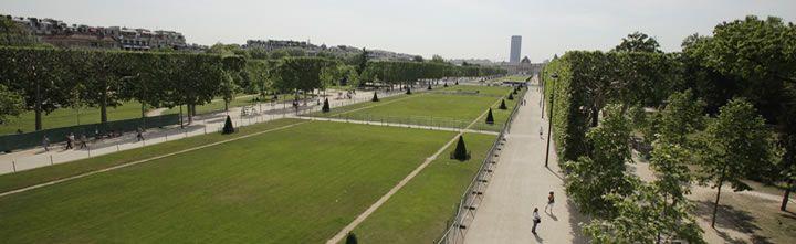 Photo de l'équipement Jardin du Champ de Mars